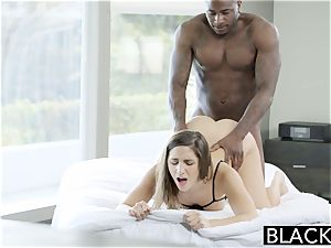 BLACKED huge butt gal Abella Danger idolizes ginormous ebony salami