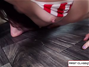 observe Bobby Dylan deep-throats and smash your hard-on in pov style