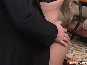 Baning ample breasted Bridgette B