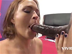Krissy Lynn Gets A firm big black cock In Her gash