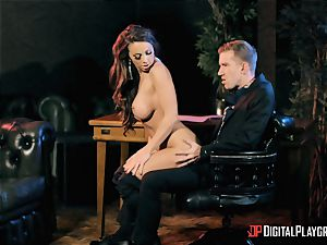 Abigail Mac takes on the monster meatpipe of Danny D