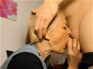 xxx OMAS - filthy mature German wife in super-naughty bang