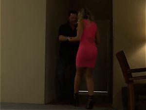super-fucking-hot prostitute Britney Amber picks up a successful punter