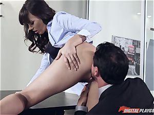 Dana DeArmond and Tommy Gunn porking in the office