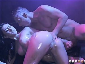 Mandy Muse caboose romped deep by Mick Blue