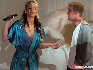 young man Danny Dee tears up his ex-girlfriend's buxomy mother Phoenix Marie