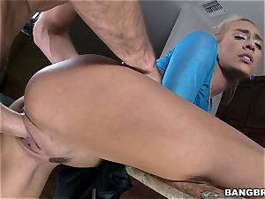wood greedy light-haired Janice Griffith