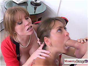 Riley got a sloppy stepmom