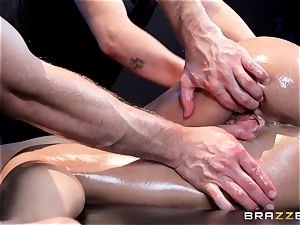 fuck-stick ultra-kinky Peta Jensen gets shafted from both ends