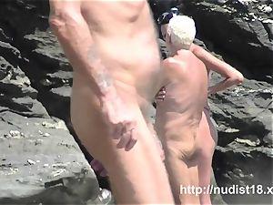 naturist beach voyeur preys on nude beauties