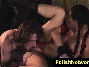 TeenCreeper Aidra Fox domination & submission stalker sub