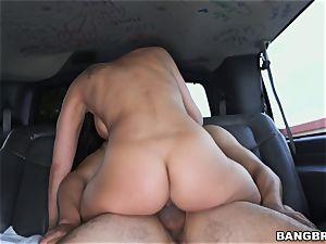 Bangbus riding with Rachel Starr
