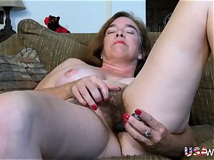 USAwives unshaved Mature fuckboxes playing Compilation