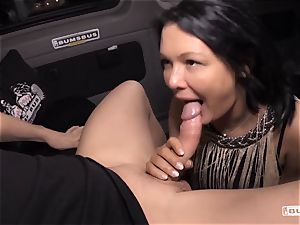 donks BUS - Bus poke and facial with buxom German milf