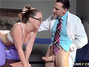 Nurse Maddy OReilly puts things right with a pounding