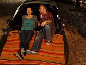 Last chance Sn 2 Rachel Starr plowed over car rubber hood