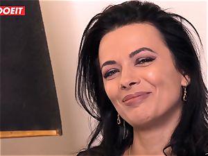 LETSDOEIT - Romanian beauty Creamed By a French fuckpole