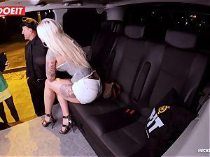LETSDOEIT - successful taxi Driver Bones two molten Blondes