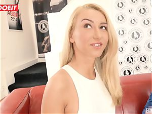 Katrin Tequila ravaged gonzo on her first audition