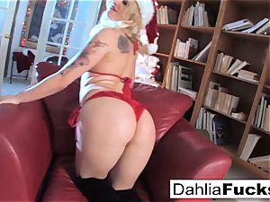 Christmas solo with Dahlia Sky