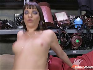 Dana DeArmond gets her killer taut cunt tongued and toyed with