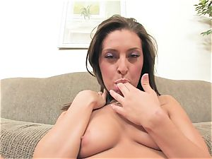 Gracie Glam packs her super-hot slot with those promiscuous super-naughty fingers pleasuring her