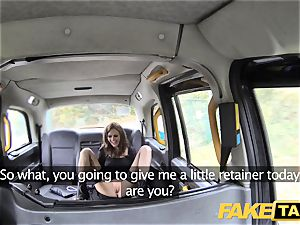 fake taxi Posh dolls turgid twat and booty romped