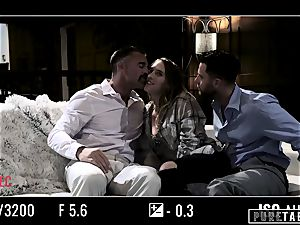 pure TABOO honey Tricked Into revenge threeway with Strangers