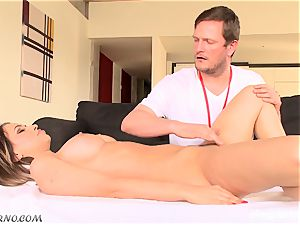 Aleska Diamond - A special rubdown for my large caboose