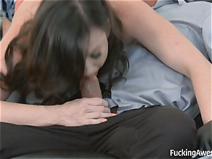 Jennifer milky wants her step-dads meatpipe