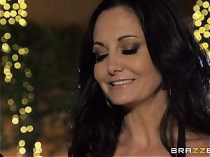 Ava Addams gets a filling from the pool man