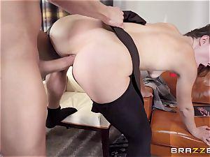 Ella Nova takes a enormous fuckpole down her